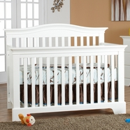 Pali Volterra Convertible Crib in White