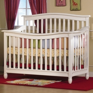 Pali Wendy Forever Crib in Distressed White