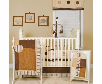 Pam Grace Creations Cappuccino 10 Piece Crib Set