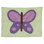 Pam Grace Creations Lavender Butterfly Rug