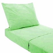 Pam Grace Creations Twin Green 3 Piece Sheet Set