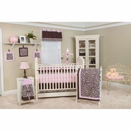 Pam Grace Creations Zara Zebra 10 Piece Crib Set