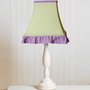 Pam Grace Lavender Butterfly Lamp Shade