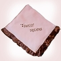 Pam Grace Sweet Dream's Satin-Trim Blanket