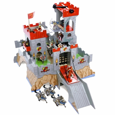 Papo Hill Top Castle Play Environment by Le Toy Van