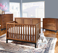 Park West Convertible Crib Collection by Westwood Design