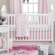 Pink Baby Crib Bedding Collections