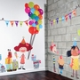Pop and Lolli Congratulations and Celebrations Birthday Overlay Wall Stickers