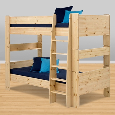 Popsicle Bunk Bed in Natural - Click to enlarge