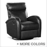Push Button Glider Recliner Collection by Dezmo