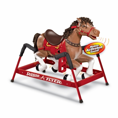 "Radio Flyer ""Liberty"" The Spring Horse with Sound!"