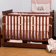Ragazzi Eclipse Stages Crib in Antique Cherry