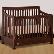 Ragazzi Etrutia Stages Crib in Antique Cherry