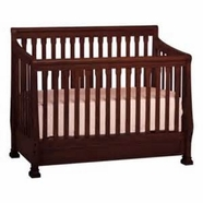 Ragazzi Etrutia Stages Sleigh Crib in Antique Cherry