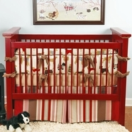Red Baby Crib Bedding Collections