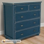 Relics Beadboard 5 Drawer Chest