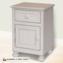 Relics Beadboard Single Door Nightstand