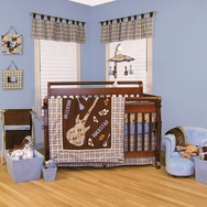 Rockstar Crib Bedding Collection by Trend Lab