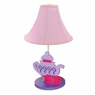 Room Magic Little Girl Tea Set Lamp