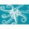 Rug Market 20,000 Leagues Area Rug in Blue/White