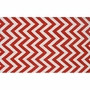 Rug Market Chevron Kids Area Rug in Red/White