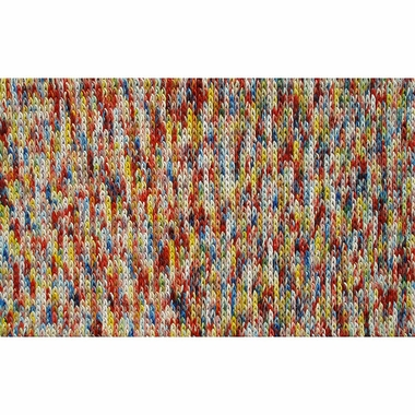 Rug Market Dotted Bunch Kids Rug in Red Multi
