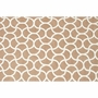 Rug Market Mermaid Brown 5 x 7.6 Outdoor Rug in Brown/White