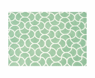 Rug Market Mermaid Green Outdoor Rug