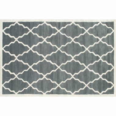 Rug Market Pemberly Rug in Grey/Ivory