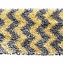 Rug Market Shaggy Raggy Chevron Kids Rug in Yellow/Grey