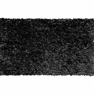 Rug Market Shaggy Raggy Kids  Rug in Black - Click to enlarge