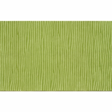 Rug Market Wavy Area Rug in Green - Click to enlarge