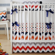Rugby Zig Zag Bedding Collection by New Arrivals