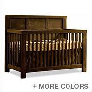 Rustico Convertible Crib Collection by Natart