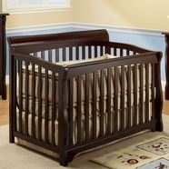 SB2 Florence 4 in 1 Convertible Crib in Espresso