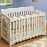 SB2 Florence 4 in 1 Convertible Crib in White