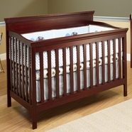 SB2 Katherine 4 in 1 Convertible Crib in Merlot