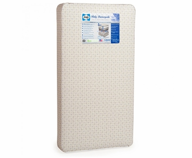Sealy Baby Posturepedic Baby Crib Mattress in Mini Fleur