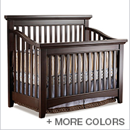 Seville Convertible Crib Collection by Lusso