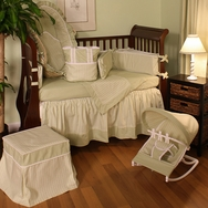 Sherbert Celery Crib Bedding Collection by Hoohobbers