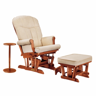 shermag reclining glider and ottoman 2