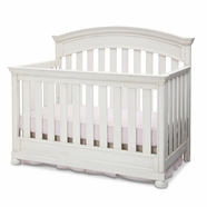 Simmons Kids Castille Crib 'N' More in Vintage White