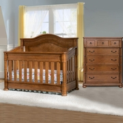 Simmons Hanover Park 2 Piece Nursery Set Convertible