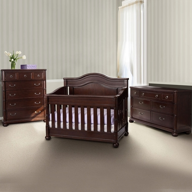Simmons Hanover Park 3 Piece Nursery Set Convertible