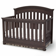 Simmons Kids Castille Crib 'N' More in Vintage Espresso