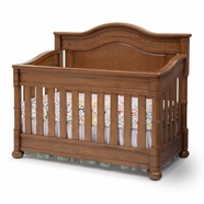 Simmons Kids Hanover Park Crib 'N' More in Chestnut