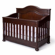 Simmons Kids Hanover Park Crib 'N' More in Molasses