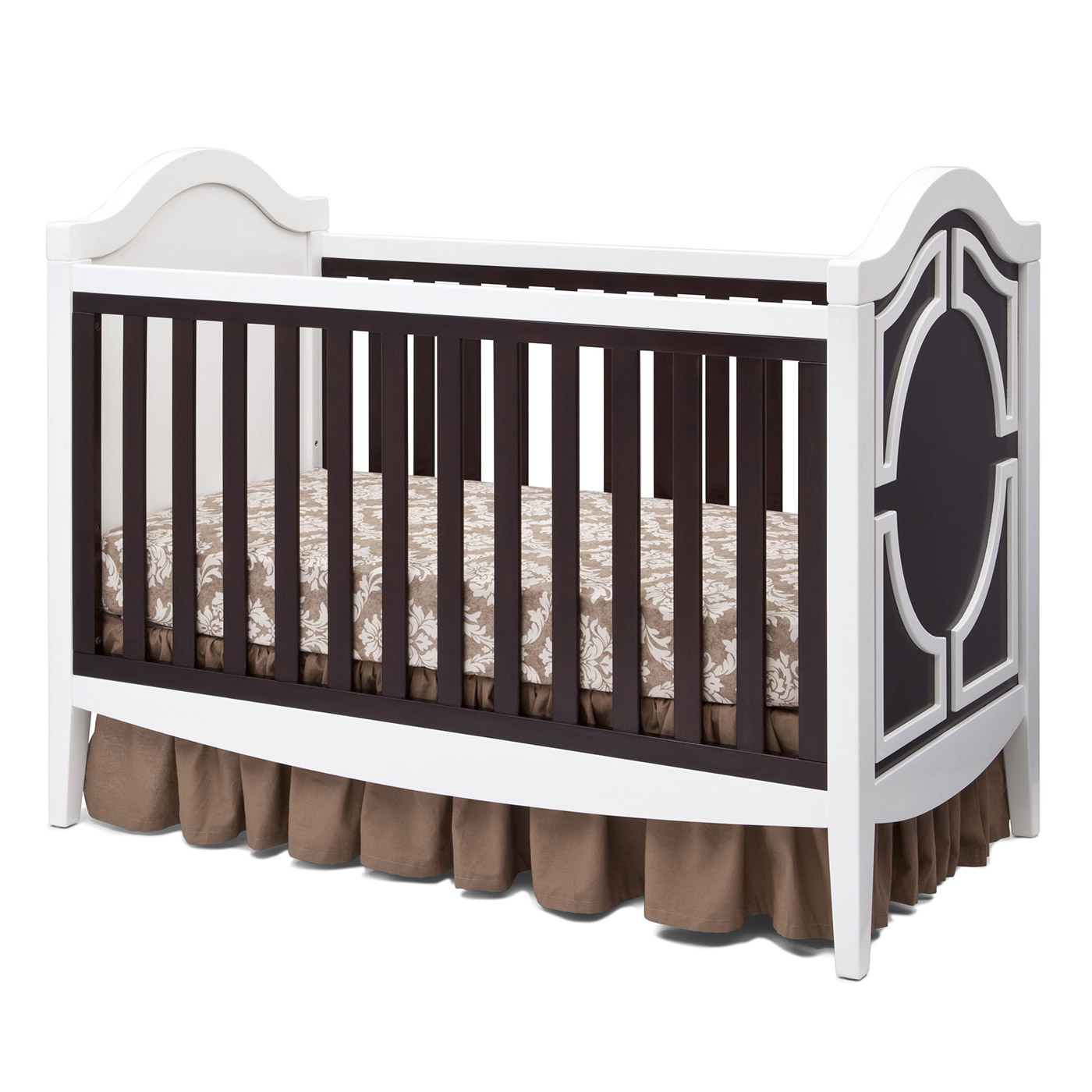 Used crib for sale ottawa - Simmons Hollywood 3 In 1 Crib In White Dark Chocolate