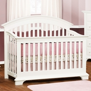 Simmons Santiago Convertible Crib in White