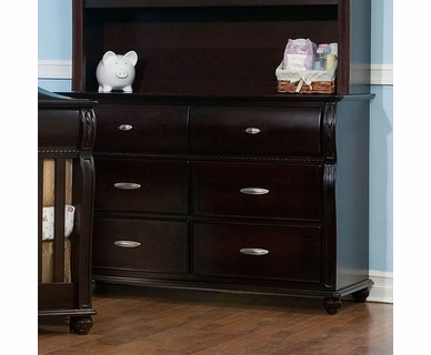 Simmons Vancouver Double Dresser in Labrosse Cherry